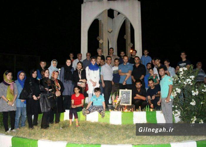 یادبود عباس کیارستمی در رستم آباد (8)