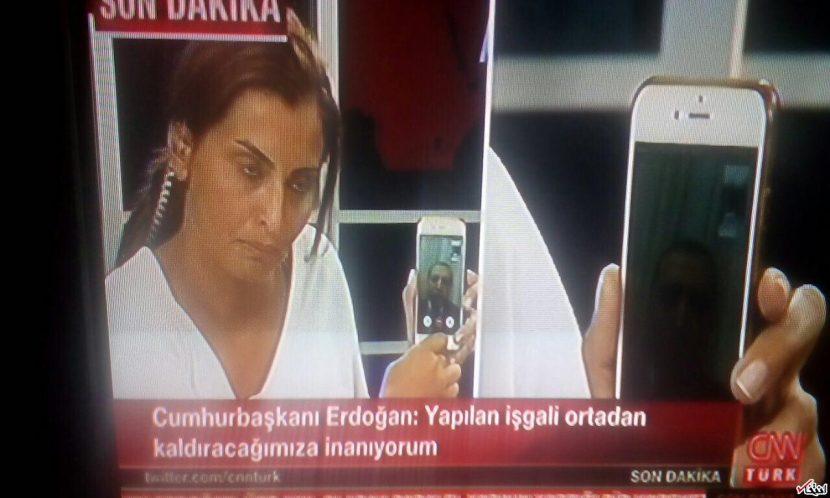 تماس اسکایپی اردوغات کودتا در ترکیه