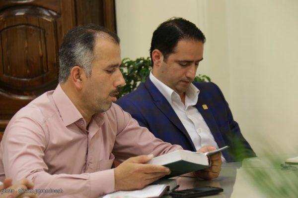 دیدار فرماندار و حزب ندا لاهیجان (3)