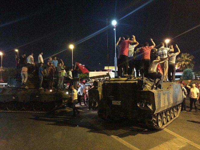 کودتا ترکیه تظاهرات مردم