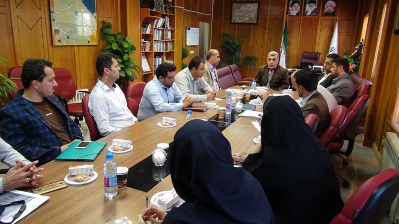 مراسم تجلیل از خبرنگاران در رضوانشهر