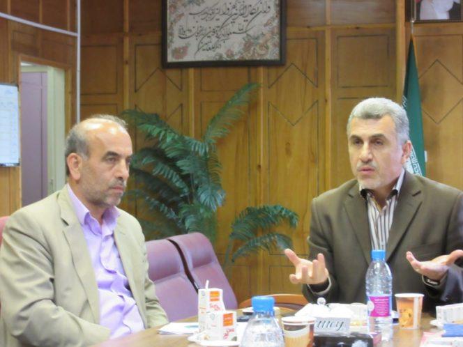 مراسم تجلیل از خبرنگاران در رضوانشهر11