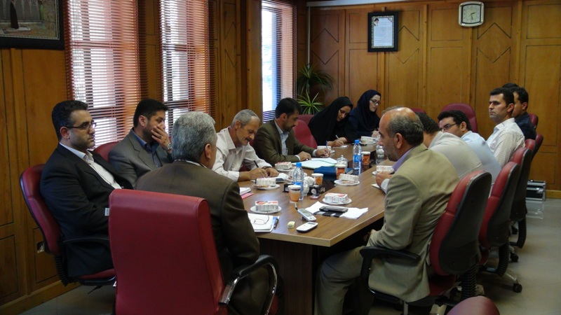 مراسم تجلیل از خبرنگاران در رضوانشهر13