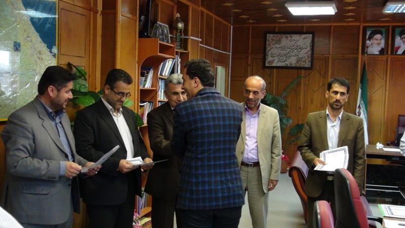 مراسم تجلیل از خبرنگاران در رضوانشهر4