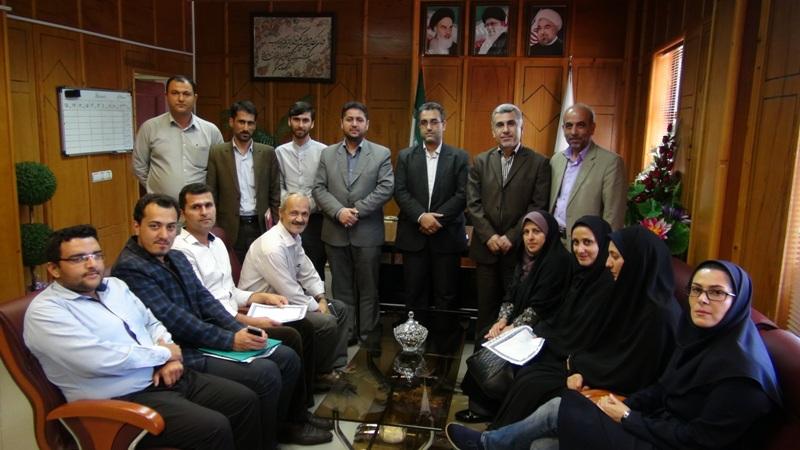 مراسم تجلیل از خبرنگاران در رضوانشهر7