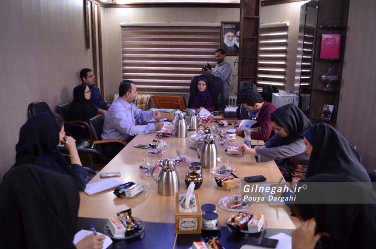 نشست خبری شهردار منطقه سه (1)