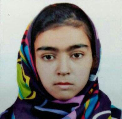 لطیفه رحمانی دختر 12 ساله تبعه افغانستان