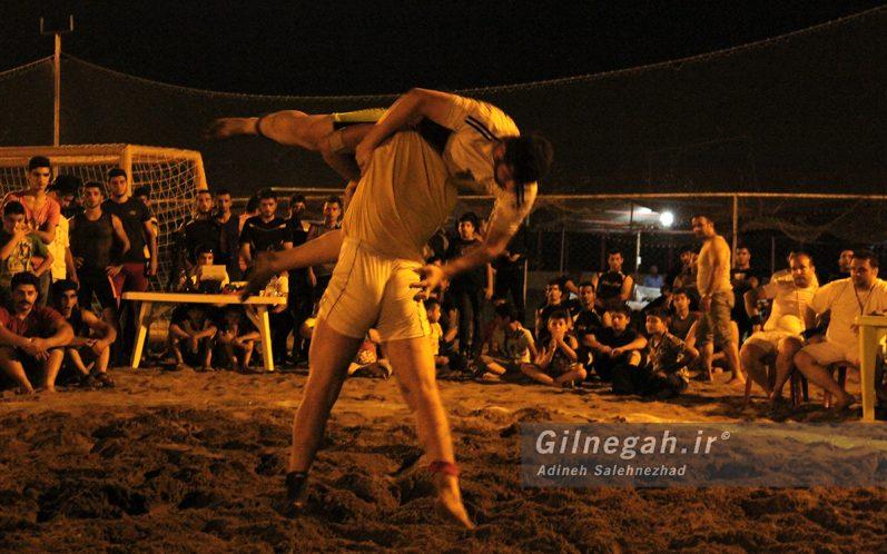 مسابقات استانی کشتی ساحلی گیلان در چمخاله (10)
