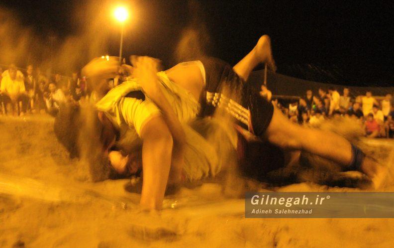 مسابقات استانی کشتی ساحلی گیلان در چمخاله (14)