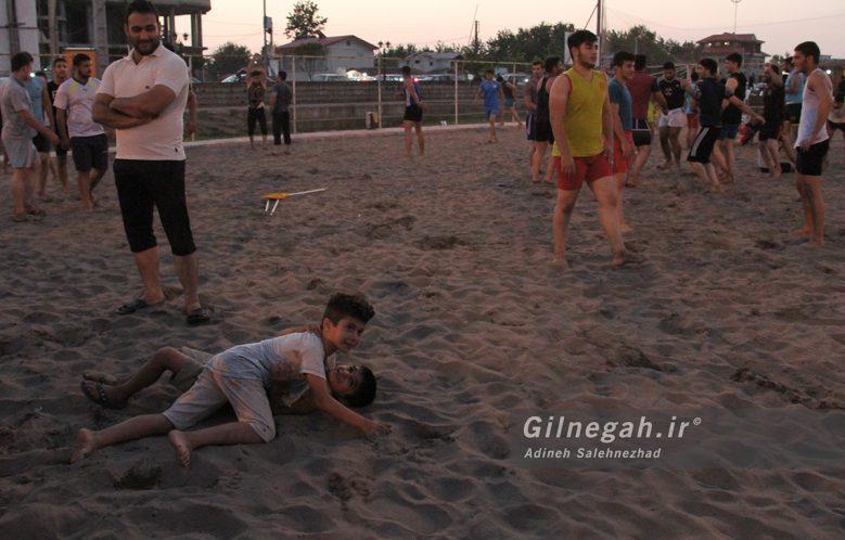 مسابقات استانی کشتی ساحلی گیلان در چمخاله (18)