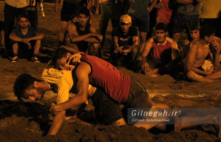 مسابقات استانی کشتی ساحلی گیلان در چمخاله (7)