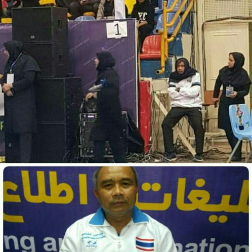 اتفاقی باورنکردنی در ایران؛ در بازیهای کبدی قهرمانی آسیا در گرگان سرمربی مرد تایلند را مجبور به استفاده از روسری کردند+تصاویر